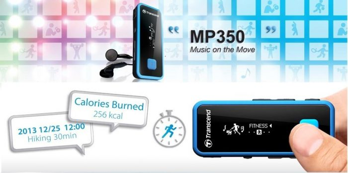 Transcend MP350 avis test fonctions fitness