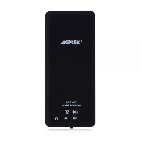 Avis test baladeur MP3 AGPTEK A02